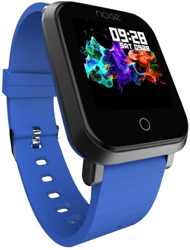 Noise Colorfit Pro Smartwatch(Blue Strap Free)