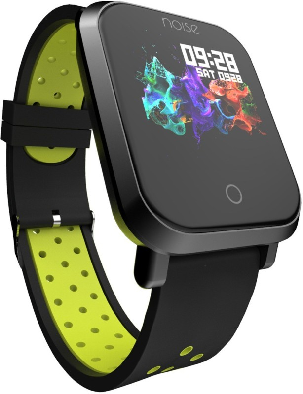 Noise Colorfit Pro Green-Black Smartwatch(Green Strap Free)
