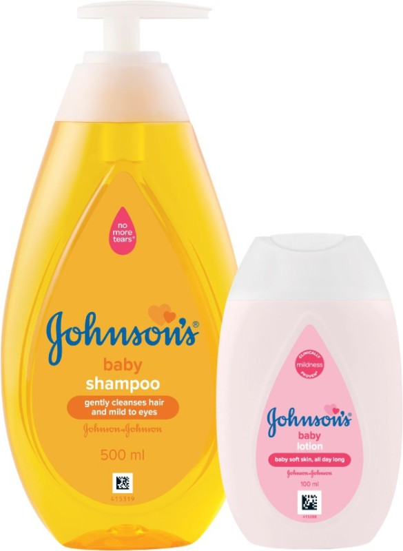 Johnson's Baby Shampoo with Lotion(Multicolor)