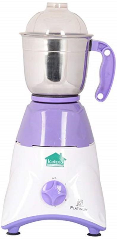 KETVIN B01F8HEE1A 1 Juicer Mixer Grinder(White, 2 Jars)
