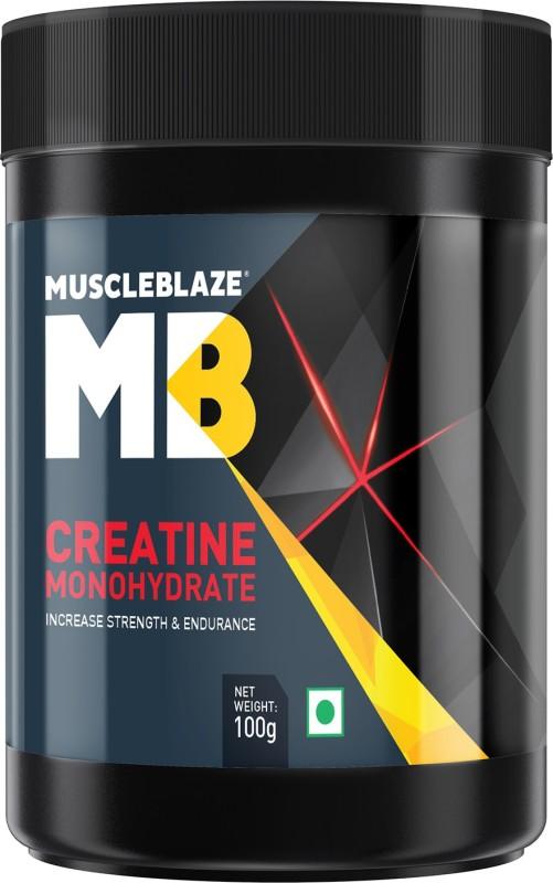 MuscleBlaze Creatine Monohydrate Creatine(100 g, Unflavored)