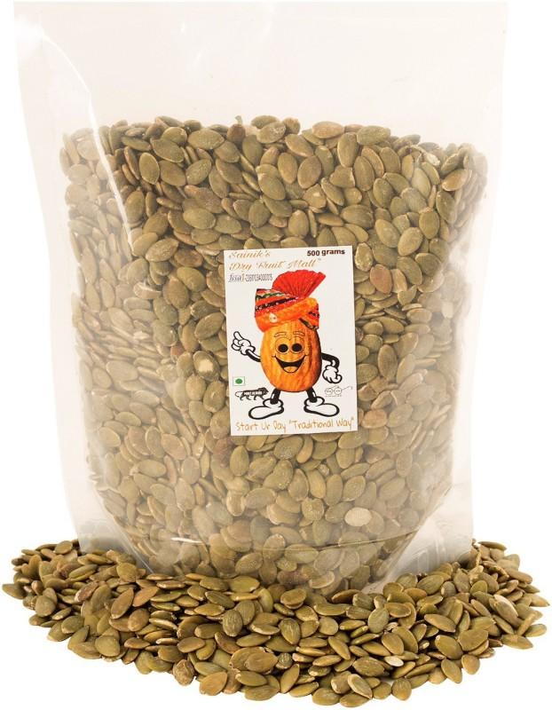 Sainik's Dry Fruit Mall Roasted and Salted Pumpkin Seeds(250 g)