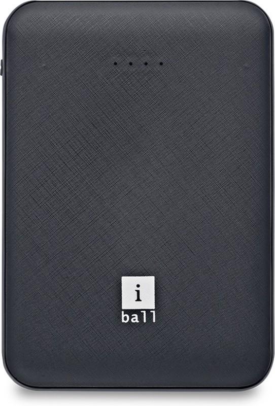 iBall 5000 mAh Power Bank (IB-5000LPS)(Black, Lithium Polymer)