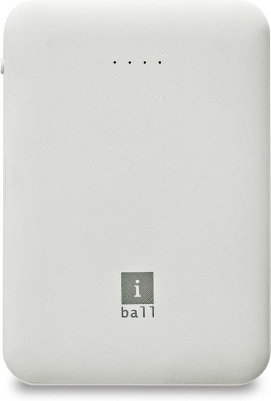 iBall 5000 mAh Power Bank (IB-5000LPS)(White, Lithium Polymer)