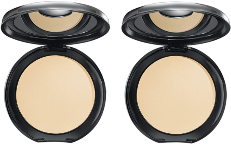Elle 18 Compact Glow Marble_ 2 Compact(Marble, 18 ml)