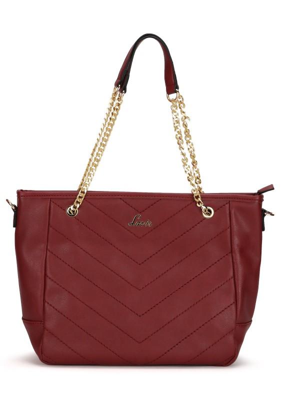 Lavie Women Maroon Shoulder Bag