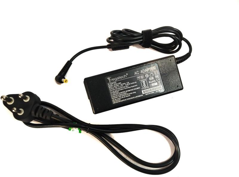 Regatech NV5803E, NV5807U, NV5810U 19V 4.74A Charger 90 W Adapter(Power Cord Included)