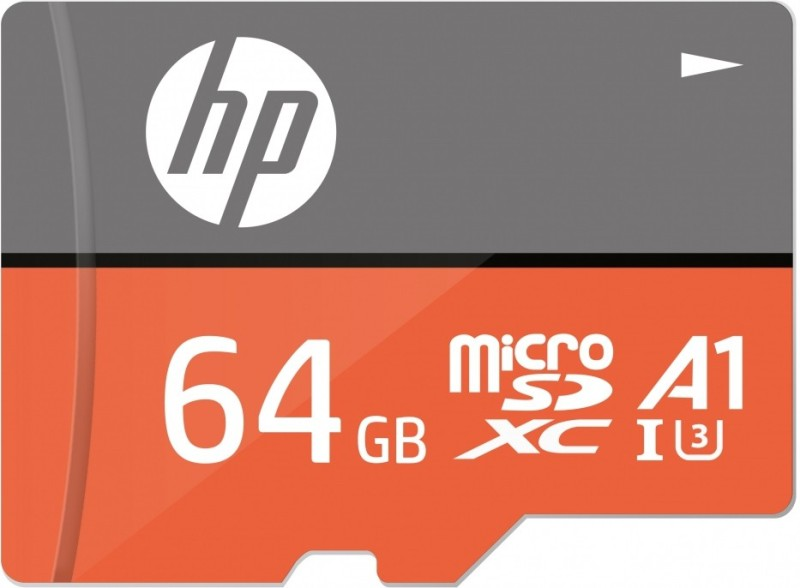 HP U3 A1 64 GB MicroSD Card Class 10 100 MB/s Memory Card