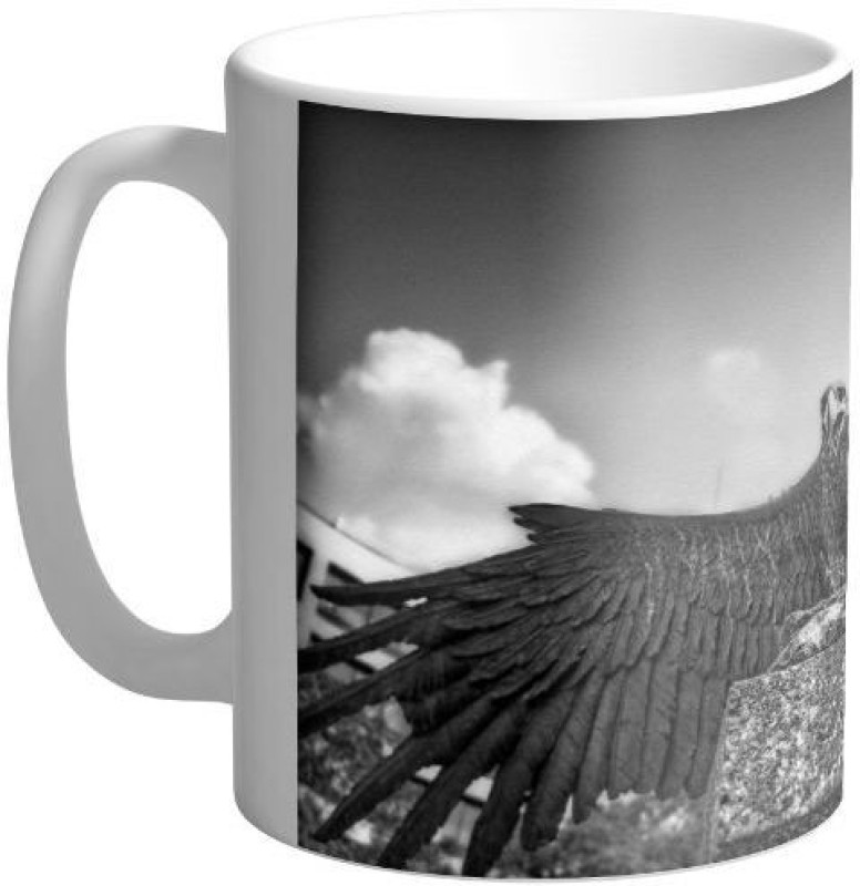 Arkist eagle sculpture nagoya japan wallpaper Ceramic Mug(340 ml)