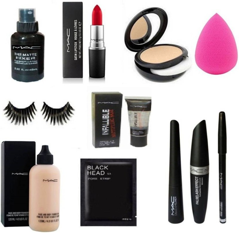 M A C Makeup Kit Pack Of 11 Items In