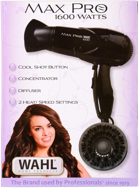 Wahl 05050 05050 Hair Dryer(1600 W, Black)
