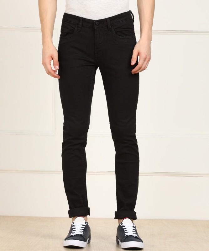 Arrow Jeans Regular Men Black Jeans