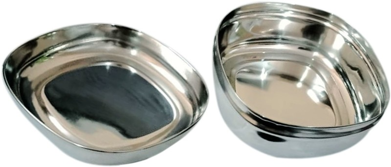 Brandroot Stainless Steel Portion Control Food Container/Lunch Box/Tiffin (300 ml) 1 Containers Lunch Box(300 ml)