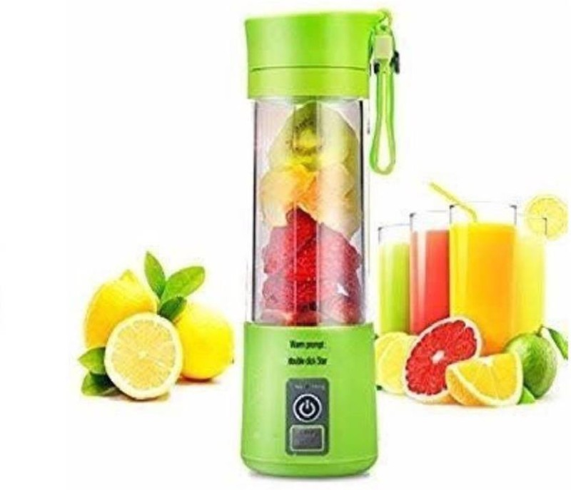 KSTARENTERPRISE 2564 KSTAR-2019 New Design Portable USB Battery Operated Rechargeable Fruit Mixer Bottle 12 Juicer Mixer Grinder(Multicolor, 1 Jar)