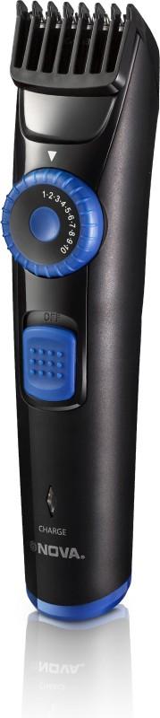 Nova Prime series NHT 1094 Runtime: 45 min Trimmer for Men(Black, Blue)