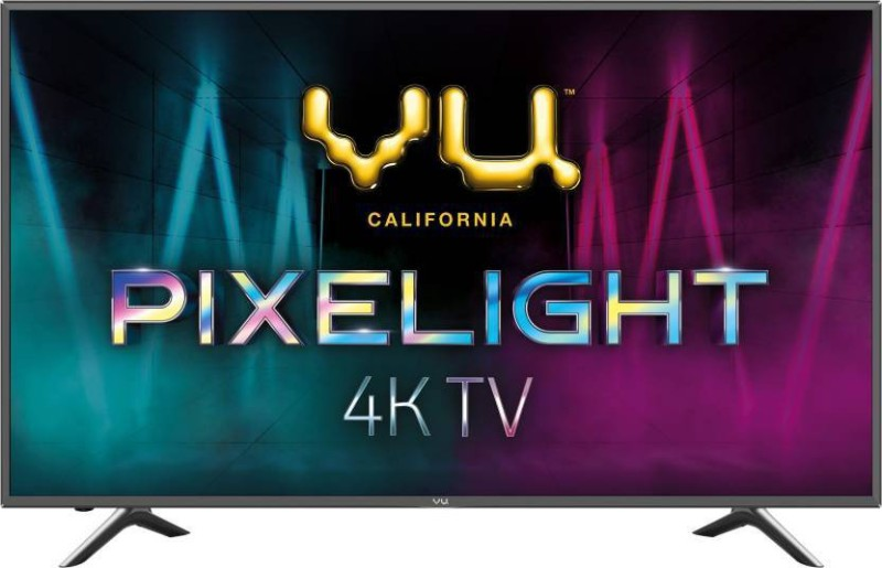 Vu Pixelight 138cm (55 inch) Ultra HD (4K) LED Smart TV(55BPX)