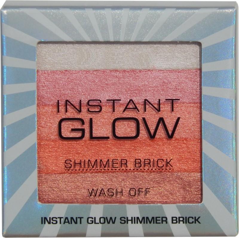 firstzon™ Instant glow shimmer brick (pink) Highlighter((P))