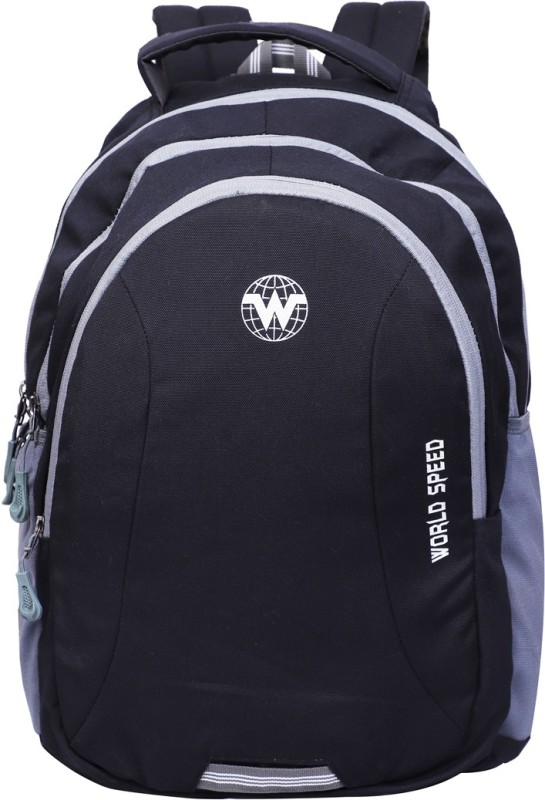 World Speed Backpack 21 L Laptop Backpack(Black)