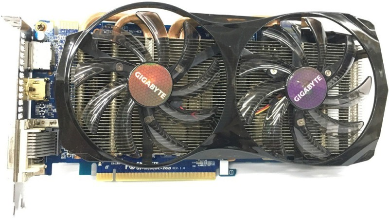 Gigabyte NVIDIA GTX660 2GB 192Bit GDDR5 Graphics Card 2 GB GDDR5 Graphics Card(Blue)