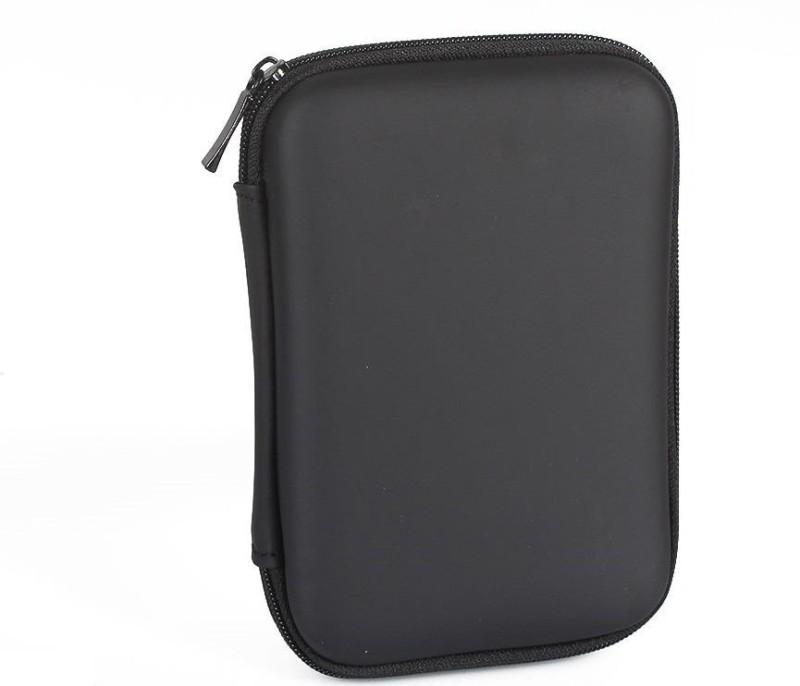 Electrobot Shockproof Portable External Hard Disk Drive Pouch Case 2.5 inch Pouch(For SATA or IDE hard disk, Black)