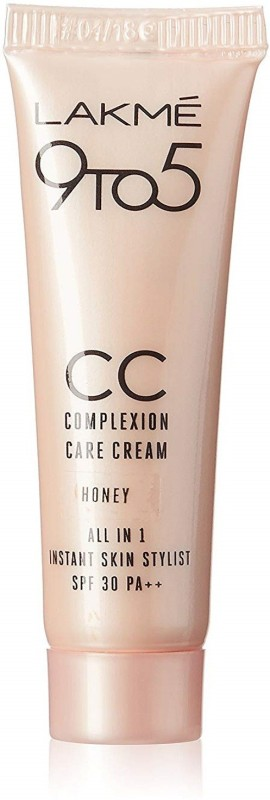 Lakme 9 to 5 Complexion Care CC Cream, Honey, 30g(30 g)