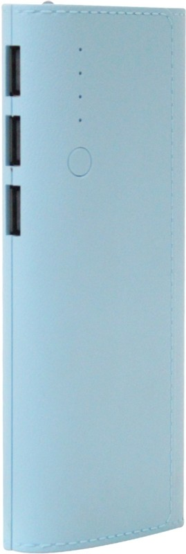 King 20000 mAh Power Bank (20K LP, Portable Battery Charger)(Blue, Lithium-ion)