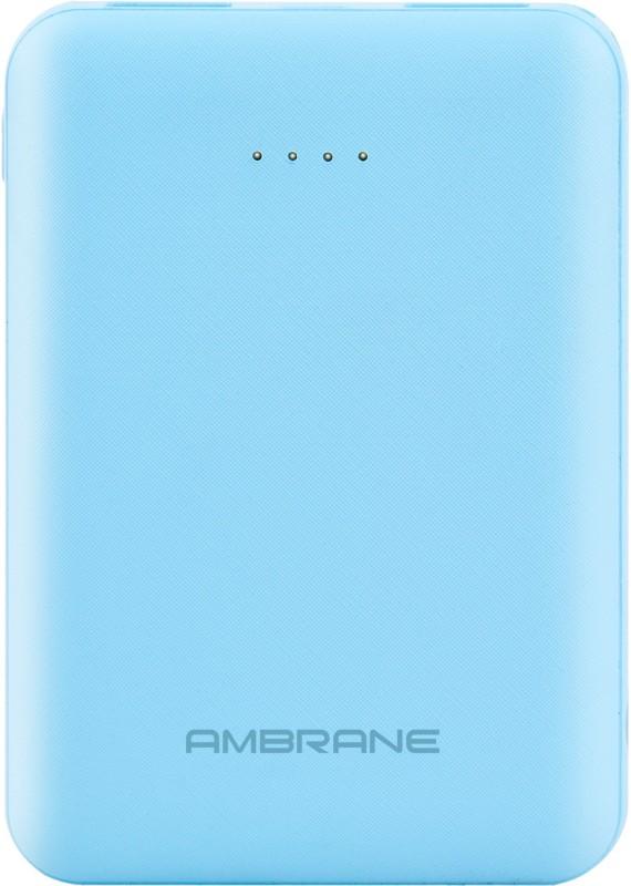 Ambrane 5000 mAh Power Bank (PP-501)(Blue, Lithium Polymer)