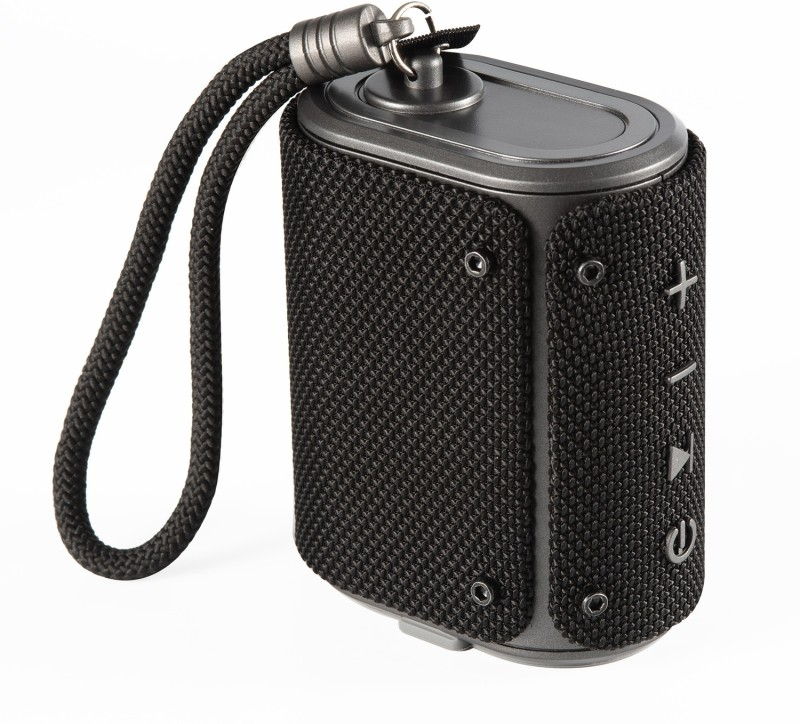 boAt Stone Grenade 5 W Portable Bluetooth Speaker(Charcoal Black, Mono Channel)