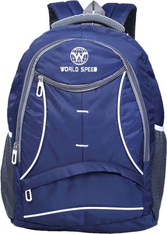 World Speed Daily Use 28 L Laptop Backpack(Blue)