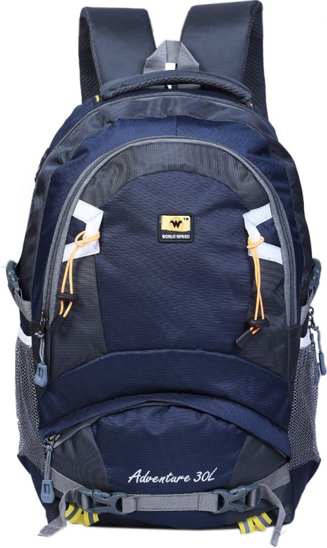 World Speed Stylish Bag 28 L Laptop Backpack(Blue)