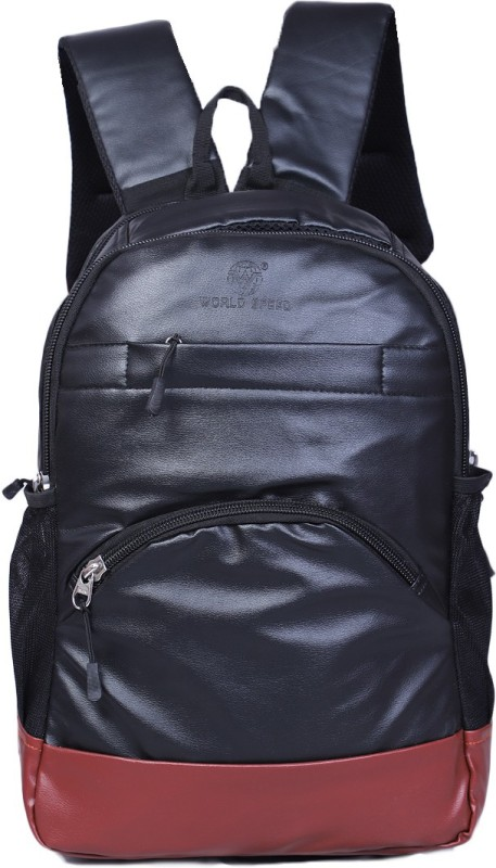 World Speed Stylish 25 L Laptop Backpack(Black)