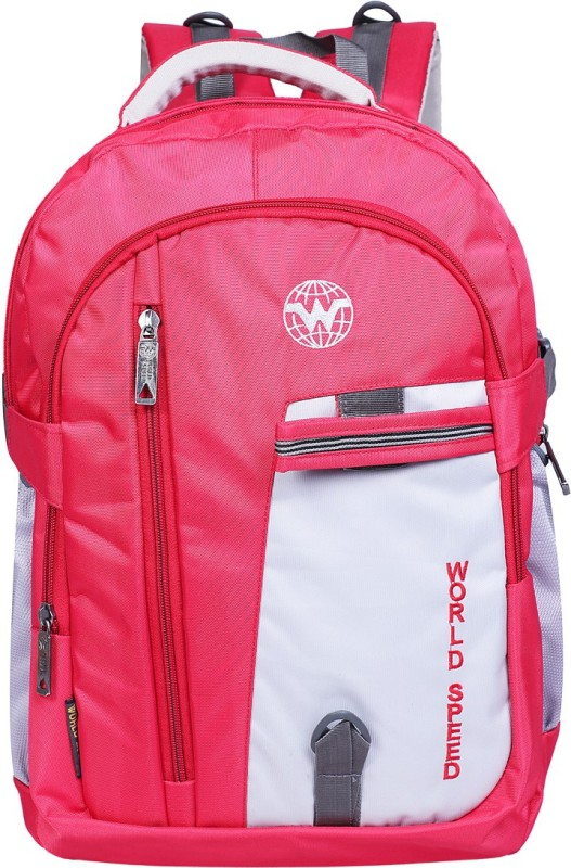 World Speed College bags 28 L Backpack(Red)
