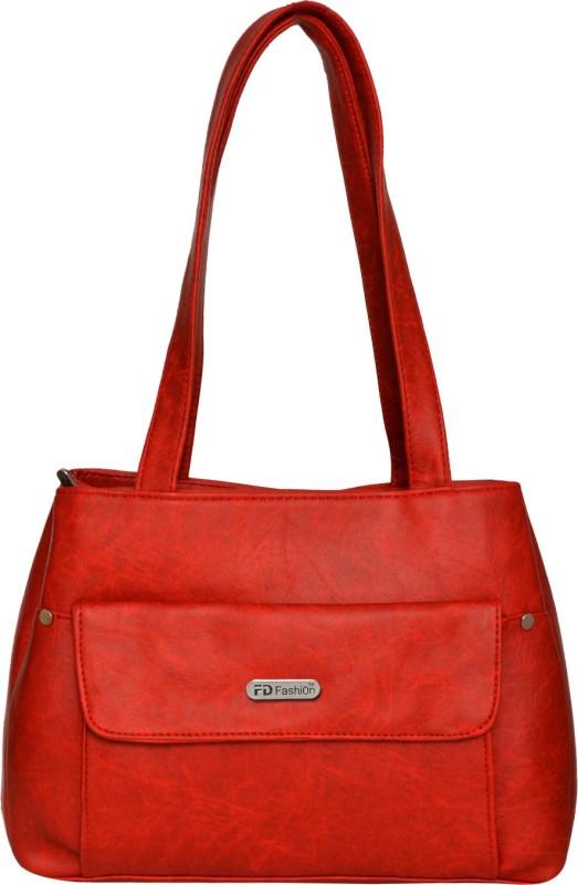 FD Fashion Women Red Shoulder Bag