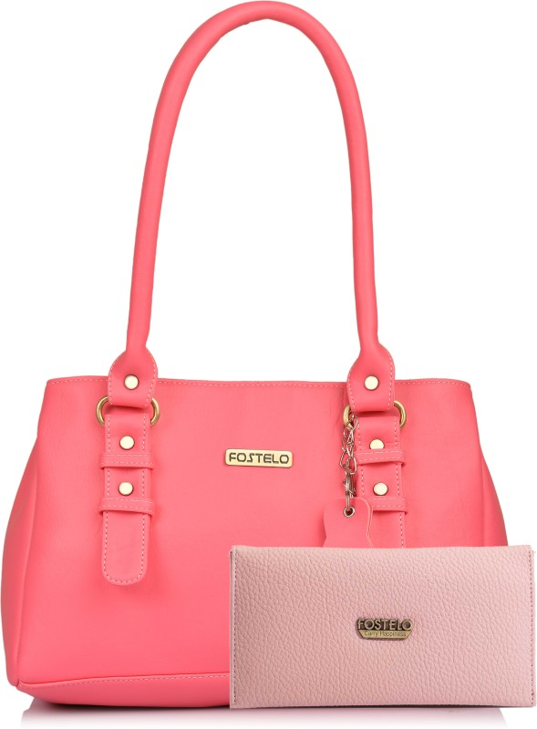 Fostelo Women Pink Shoulder Bag