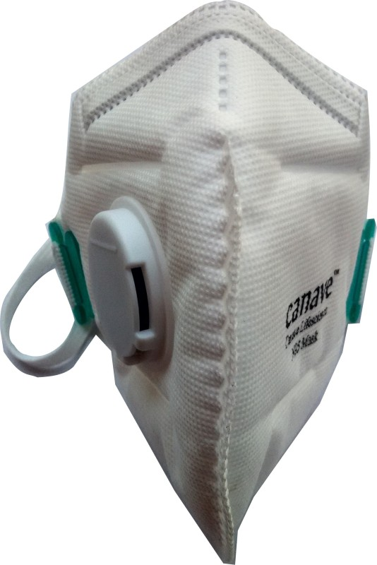 canave N95 Advanced Respirator and Anti Pollution Mask with exhalation valve 8265 Mask and Respirator
