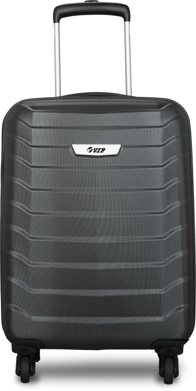 VIP SPYKER STROLLY 55 360 JBK Cabin Luggage - 21 inch(Black)