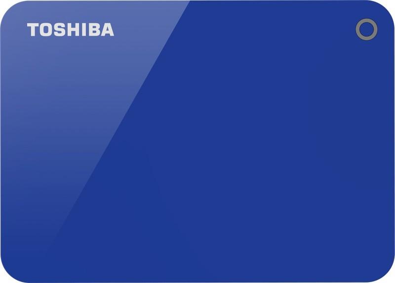 Toshiba Canvio Advance 4 TB External Hard Disk Drive(Blue)