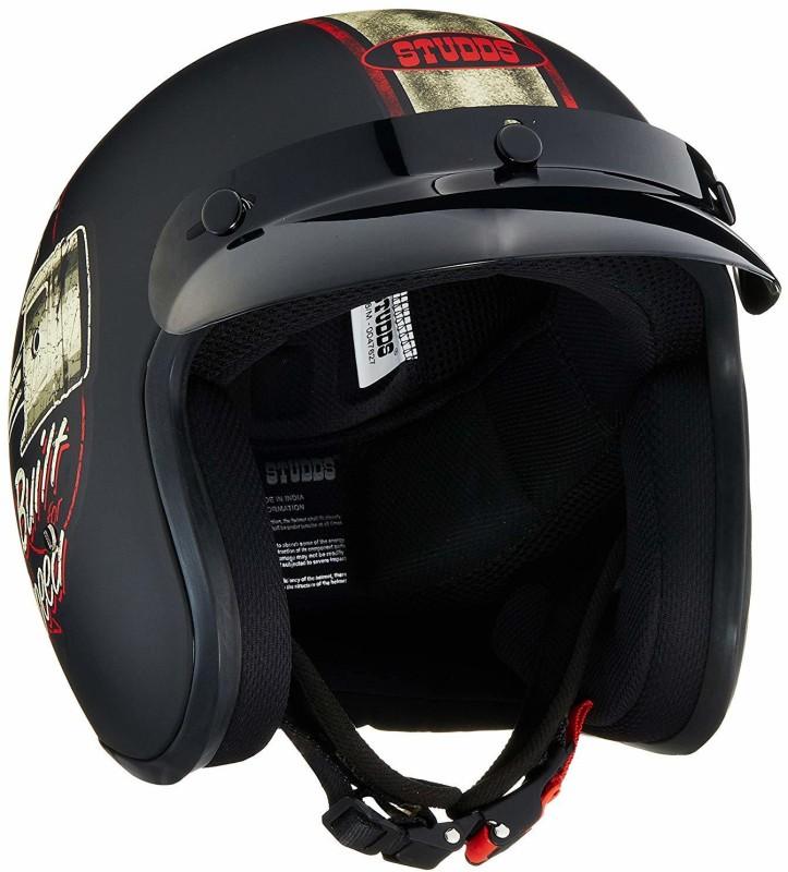 Studds SDT66010 Motorbike Helmet(Multicolor)