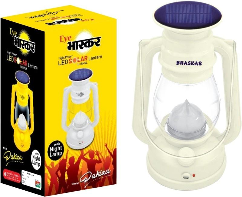 Eye Bhaskar 12 Hi-Bright LED With 1 Step Night Lamp Rechargeable Emergency Solar White Plastic Table Lantern(24 cm X 12 cm, Pack of 1)