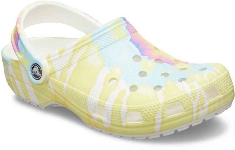 Crocs Men White Clogs