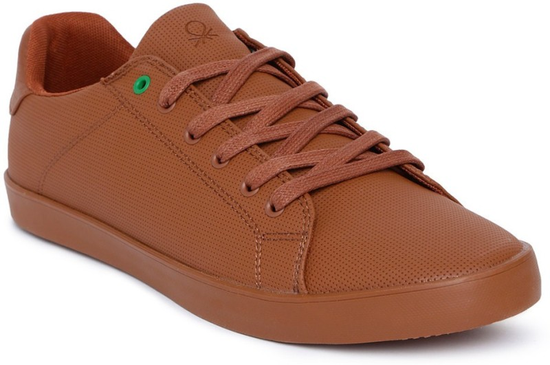 United Colors of Benetton Sneakers For Men(Brown)