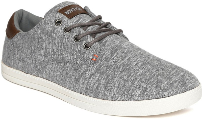 United Colors of Benetton Sneakers For Men(Grey)