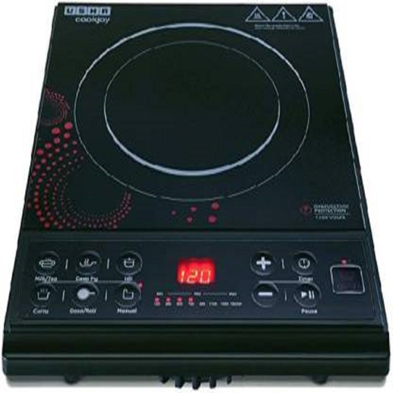 Usha usha3616 Induction Cooktop(Black, Push Button)