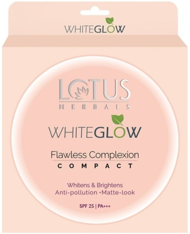 Lotus Herbals WhiteGlow Flawless Complexion Compact WG C1 Compact(Ivory, 10 g)