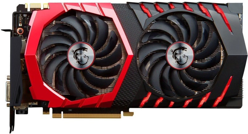 MSI NVIDIA GeForce® GTX 1070 GAMING X 8G 8 GB GDDR5 Graphics Card(Red)