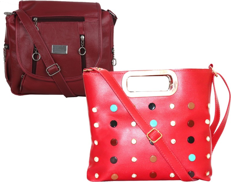 Stropcarry Red, Maroon Sling Bag