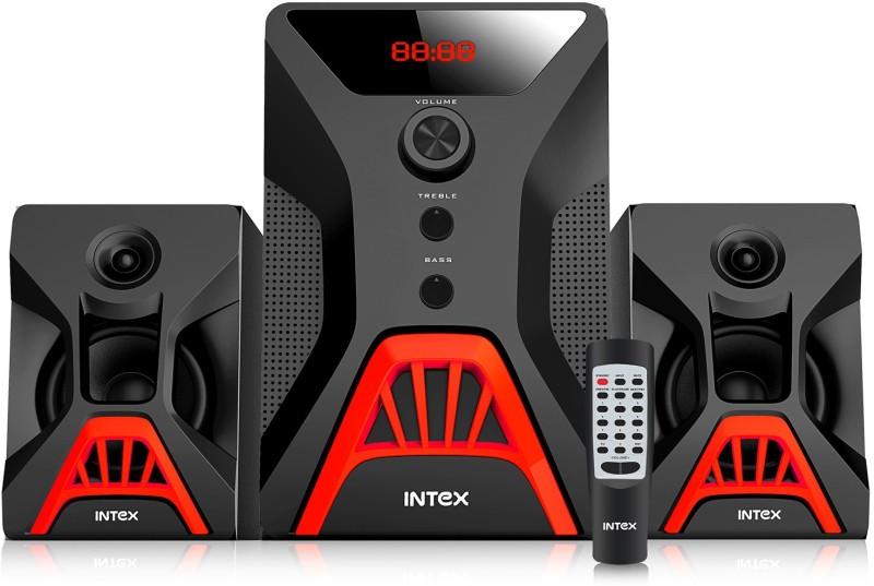 Intex 2.1 XV ROCK SUFB 55 W Bluetooth Home Theatre(Black, 2.1 Channel)