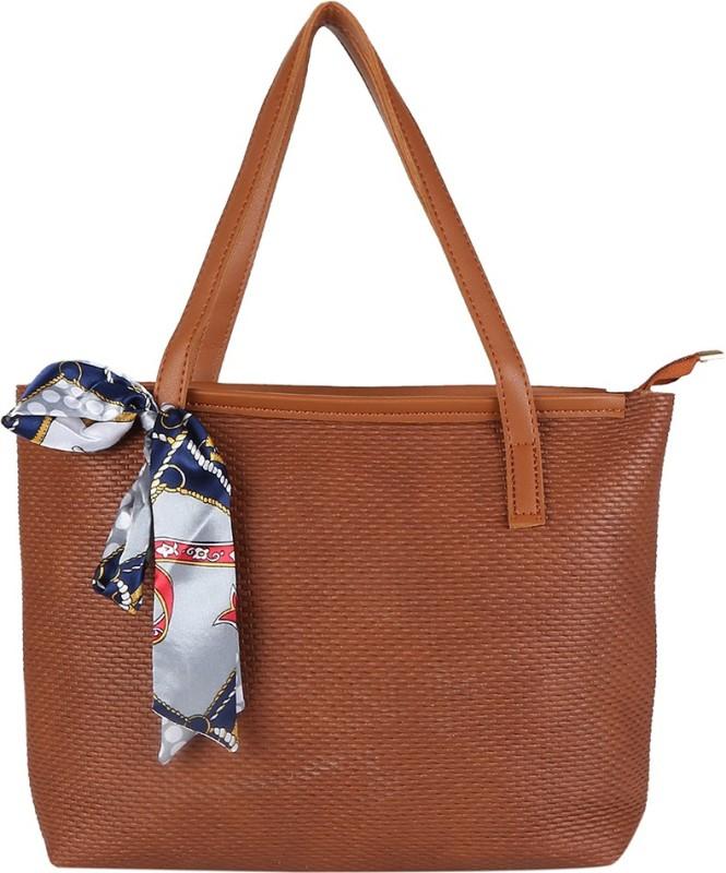 People Women Brown Shoulder Bag