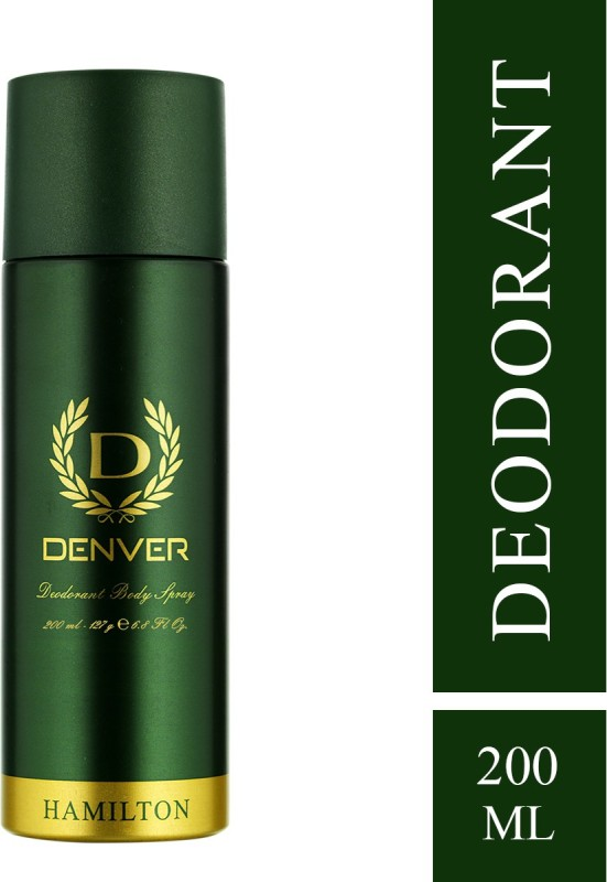 Denver Hamilton Deodorant Spray - For Men(200 ml)