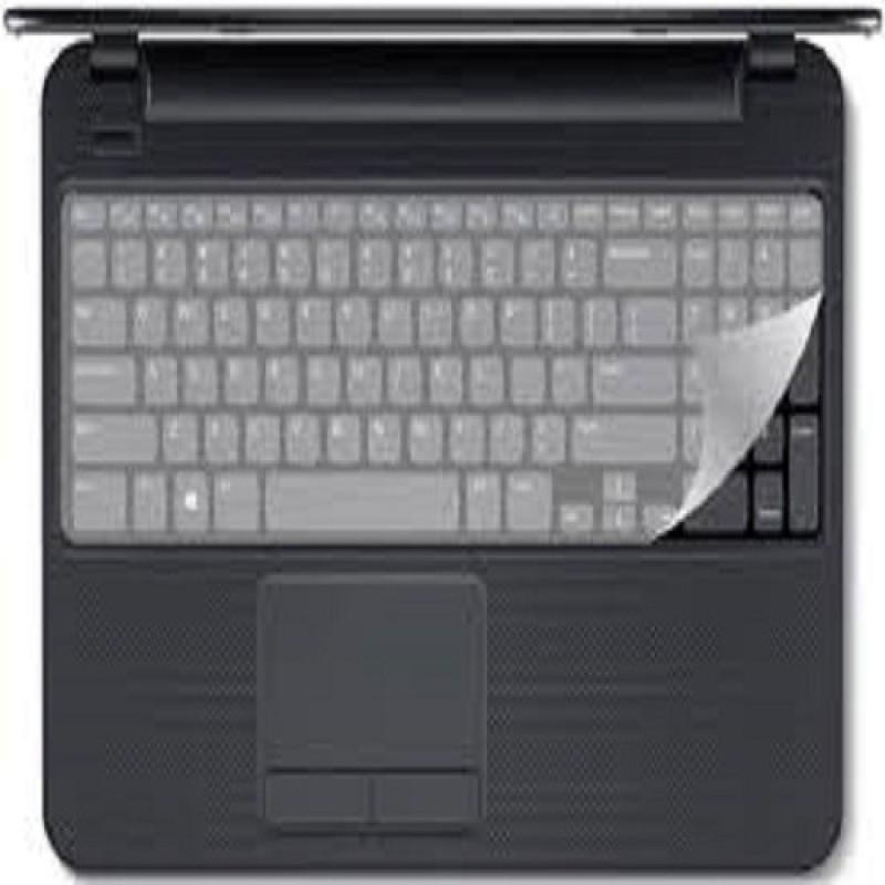 Electrobot Silicone Keyboard Protector Skin for 15.6-inch Laptop Laptop Keyboard Skin(Transparent)
